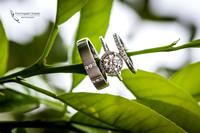 Diamond ring by wedding photographers in temecula