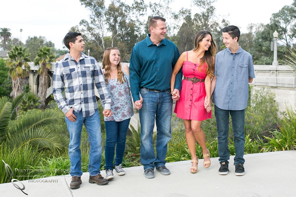 Family photo in Riverside
