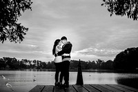 Us and the sky by Temecula wedding photographer