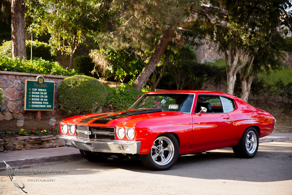 Classic 1970 Chevy SS, Muschle  Wedding Car