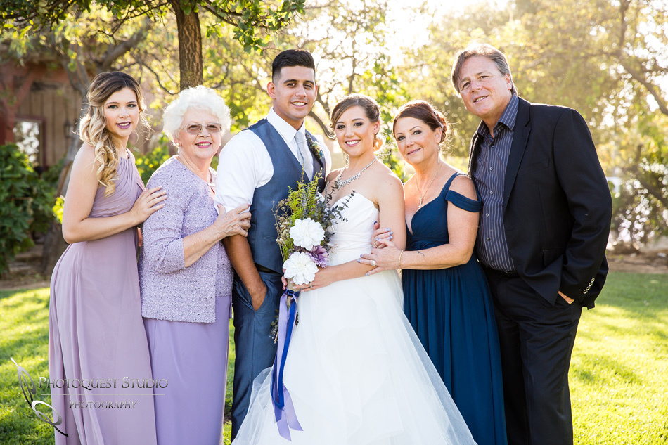 Wedding photo at Wiens Winery by Temecula wedding photographer of Photoquest Studio, Samantha & Joe (38)