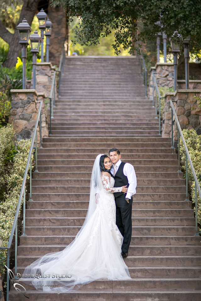 Pala Mesa Resort, Fallbrook, San Diego, California wedding photo.