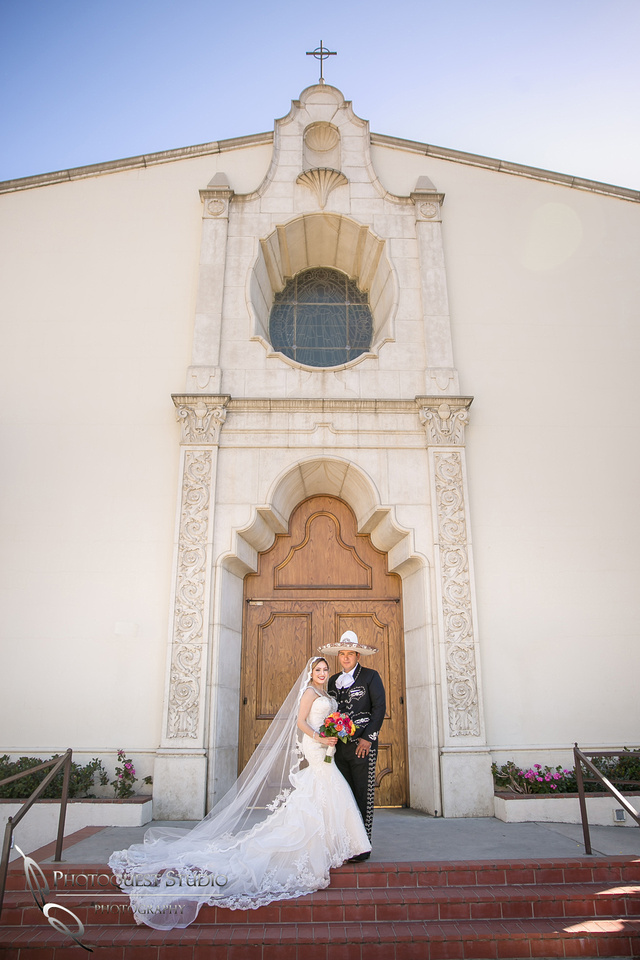 Mexican Traditional Church Wedding at St Francis De Sales Catholic Church