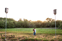 Temecula Wedding Photographer captured romantic outdoor Engagement photos with dog by Natural Light in Fallbrook, San Diego