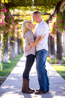 Engagement photo at South Coast Winery, California by Temecula Wedding Photographer-16