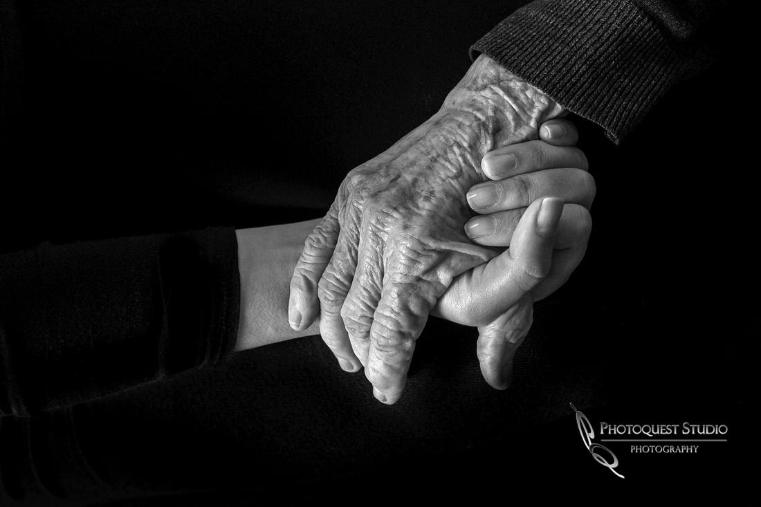 Grandma & Gia's Hands