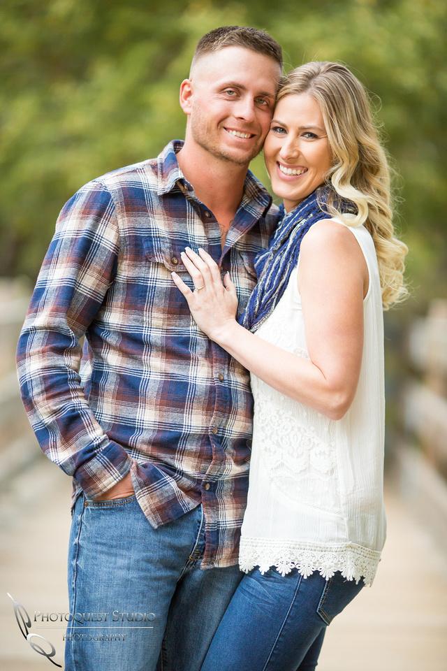 Engagement Photo at Lake Fulmor, Idyllwild by Temecula Wedding Photographer