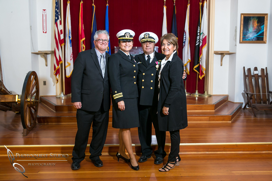 Commander Mata Retirement Ceremony at The Veterans Museum, Memorial Center,  Balboa Park, San Diego by Temecula Wedding Photographer