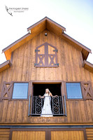 Bride by the window at Longshadow ranch winery by temecula wedding photographer