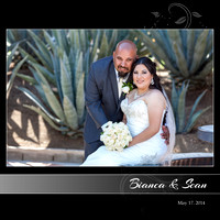 Bianca & Sean Wedding - Victorian Classic 001 (Side 1)