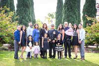 Navy Commander Anthony J. Mata Retirement Ceremony at The Veterans Museum, Memorial Center,  Balboa Park, San Diego by Temecula Wedding Photographer