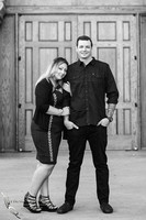 Black & White engagement at Balboa Park, San Diego by Temecula, San Diego Wedding Photographer