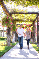 Engagement photo at South Coast Winery, California by Temecula Wedding Photographer-1