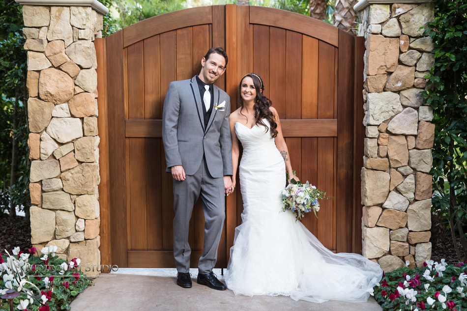 Happy couple. Wedding photos at Grand Tradition Estate Fallbrook by Wedding Photographer in Temecula