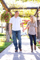 Engagement photo at South Coast Winery, California by Temecula Wedding Photographer-4