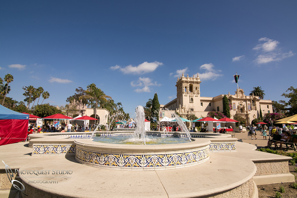 Beautiful engagement photo at Balboa Park, San Diego by Temecula, San Diego Wedding Photographer