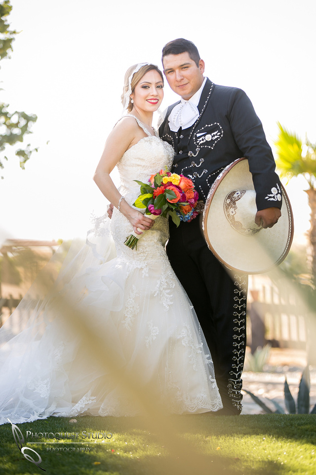 The Vaquero and his Lady, Temecula Wedding Photographer at Menifee, Rancho Los Agaves