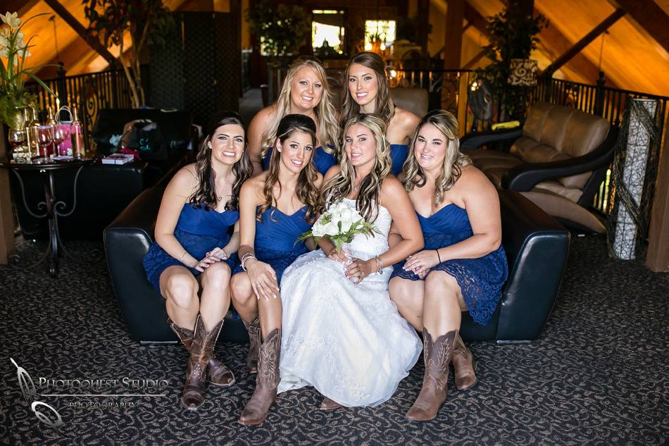 Beautiful Ladies at Longshadow Ranch Winery by Temecula Wedding Photographer