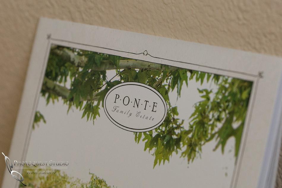 Ponte Winery prochure