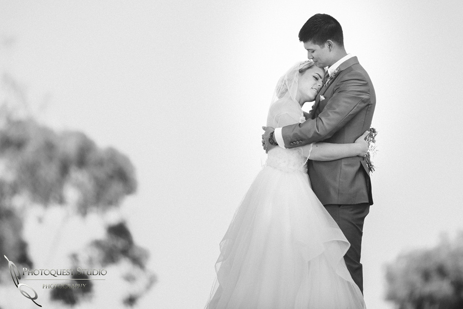 Temecula wedding photographers, quiet moment in black and white